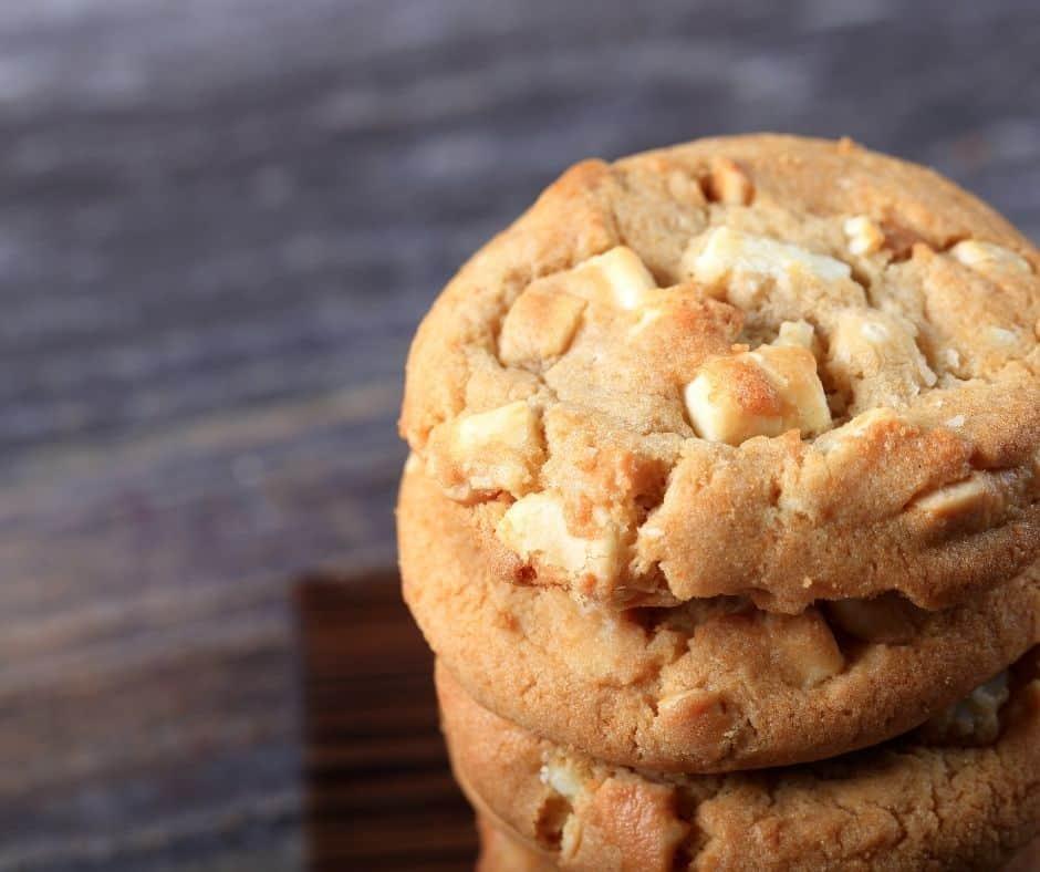 Air Fryer Copycat Mrs. Fields White Chocolate Chip Cookies