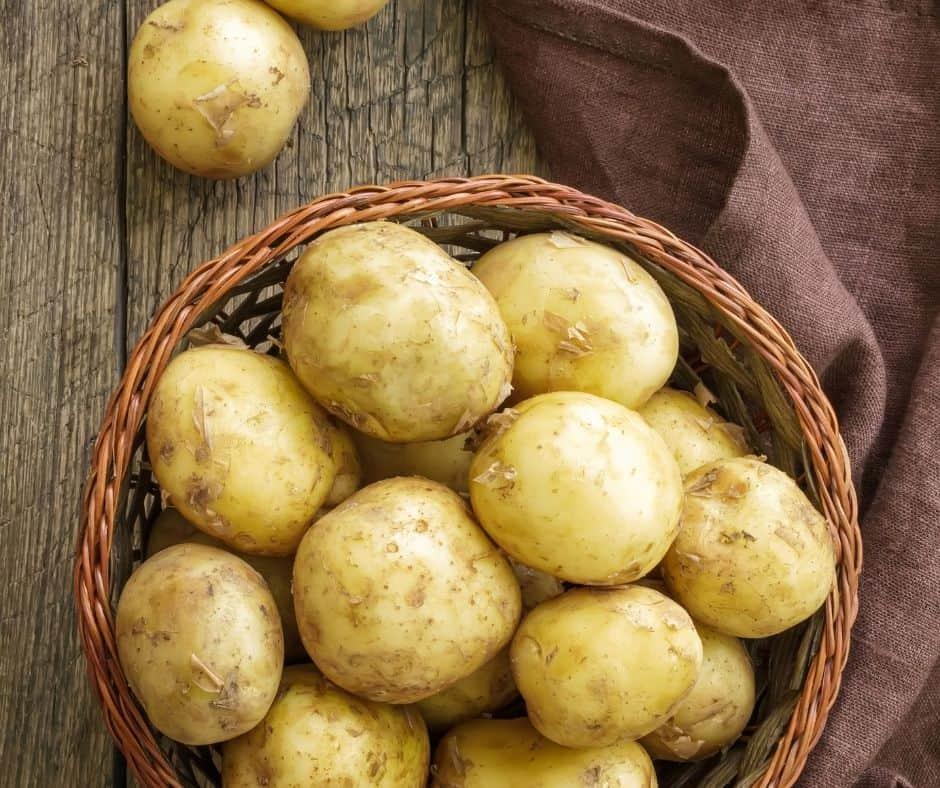 Ingredients Needed For Air Fryer Parmesan Crusted Potatoes