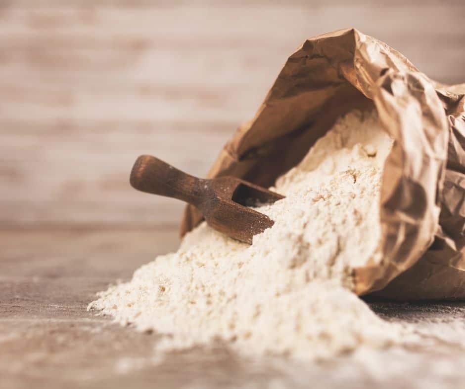 Ingredients Needed For Air Fryer Kourabiedes (Greek Sugar Cookies)