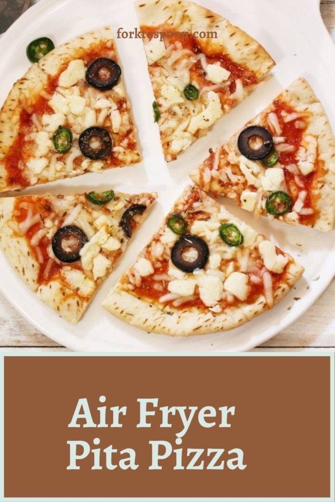 Air Fryer Pita Pizza
