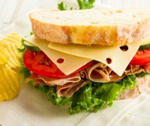 Air Fryer Prosciutto, Fig and Gouda Sandwiches