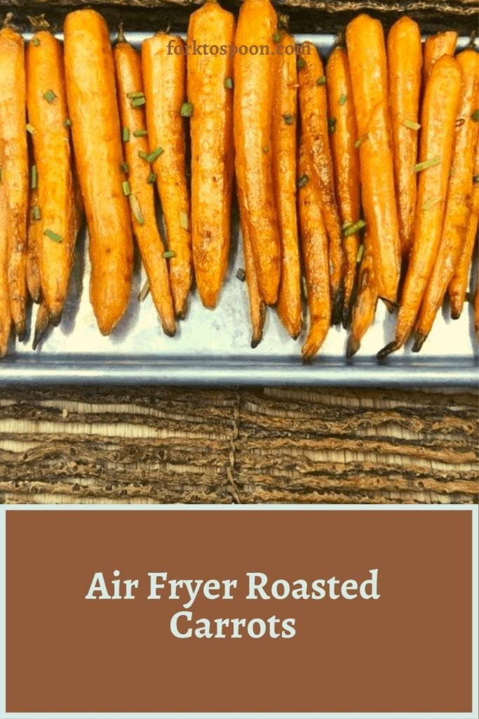 Air Fryer Roasted Carrots