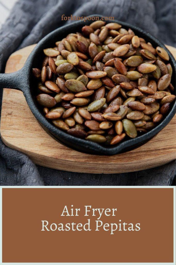 Air Fryer Roasted Pepitas