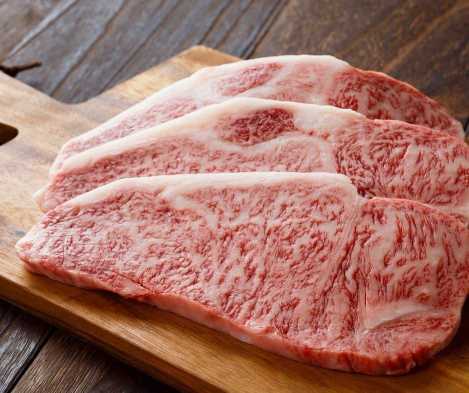 Ingredients Needed For Air Fryer Sirloin Steak with Pastrami Compound Butter