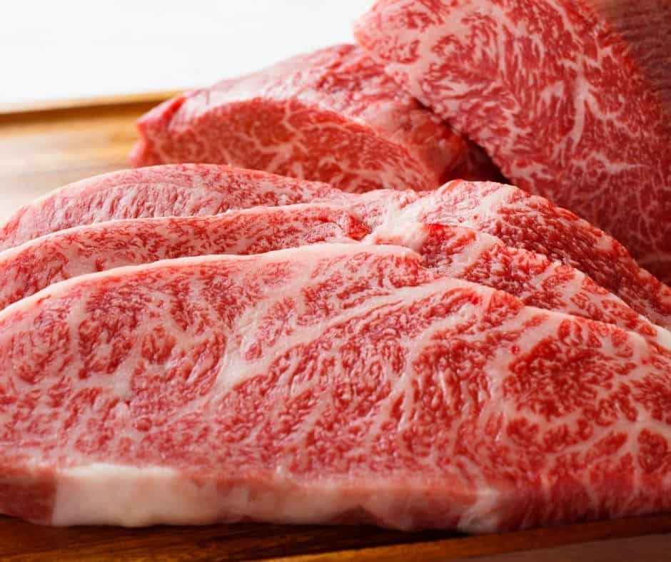 Ingredients Needed For Air Fryer Sirloin Steaks with Garlic Butter