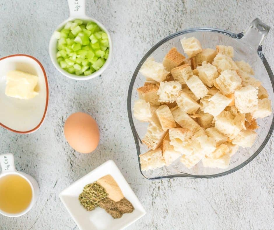 Ingredients Needed For Air Fryer Stuffing
