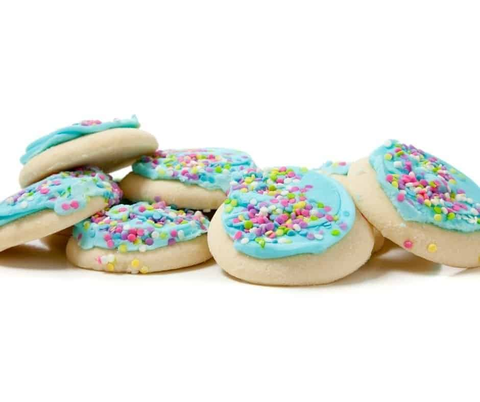 Air Fryer Sugar Cookies