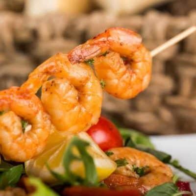 Air Fryer Shrimp on the Barbie (Outback Copycat Recipe)
