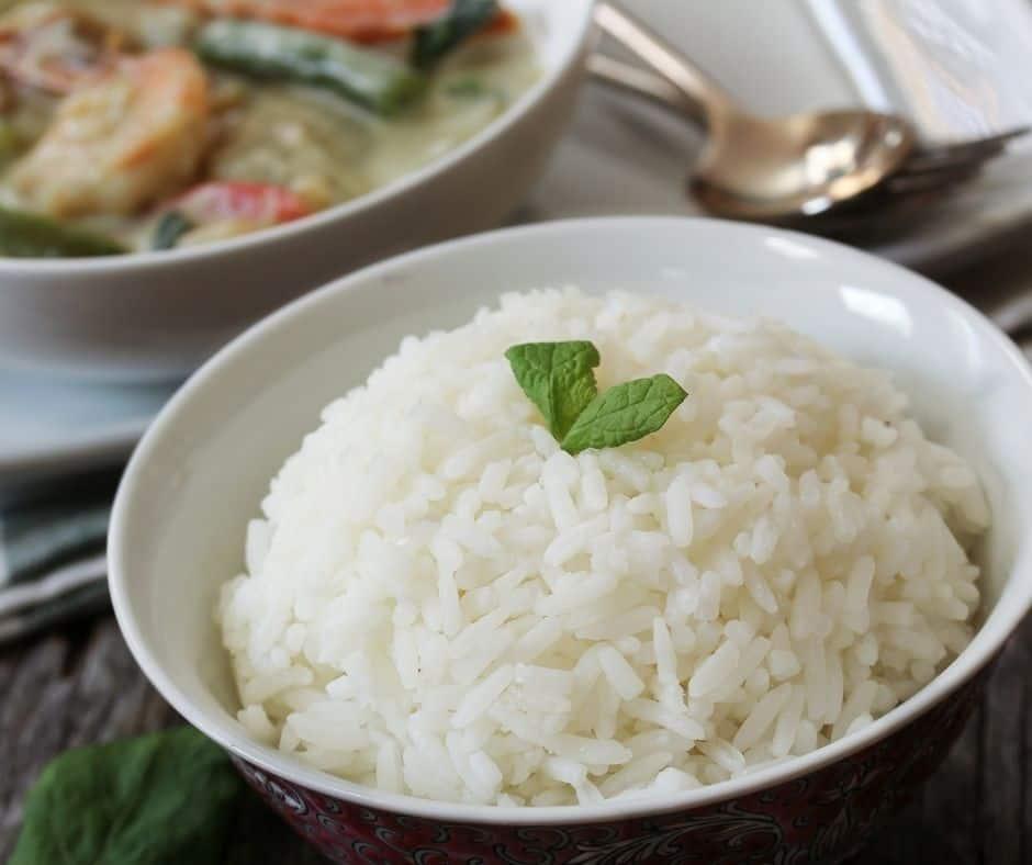 Instant Pot Coconut Jasmine Rice