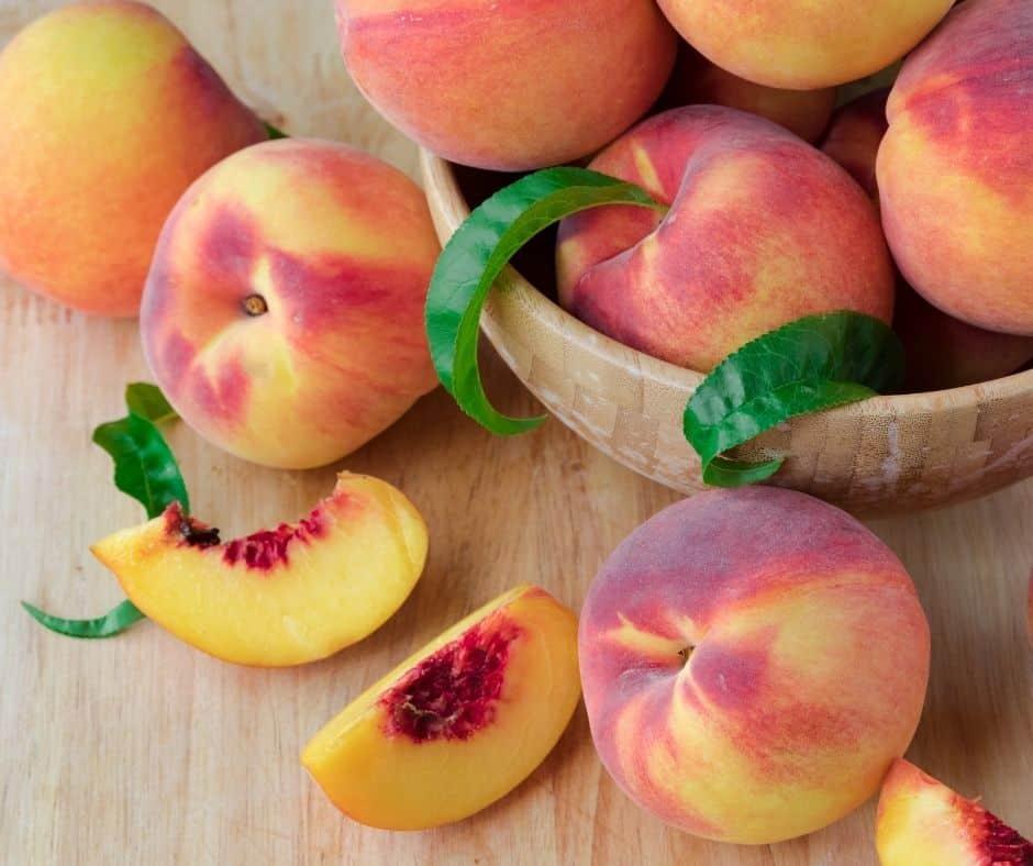 Ingredients Needed For Instant Pot Peach Cobbler