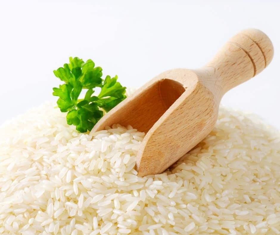 Ingredients for Instant Pot Pork Fried Rice