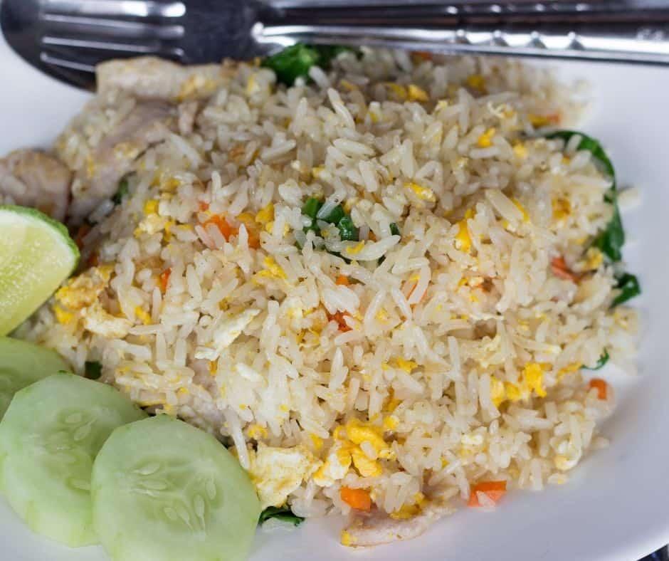 Instant Pot Pork Fried Rice