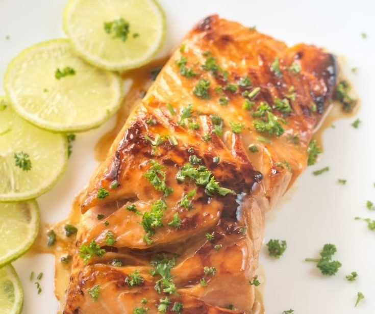 Chile Lime Air Fryer Salmon
