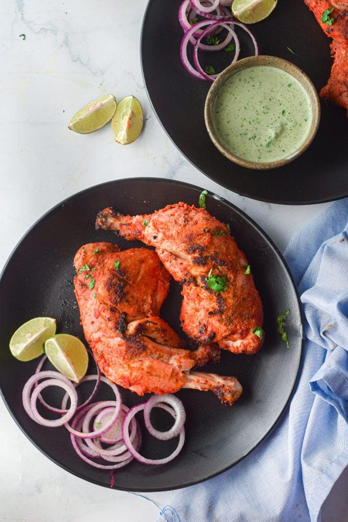 Air Fryer Tandoori Chicken Legs