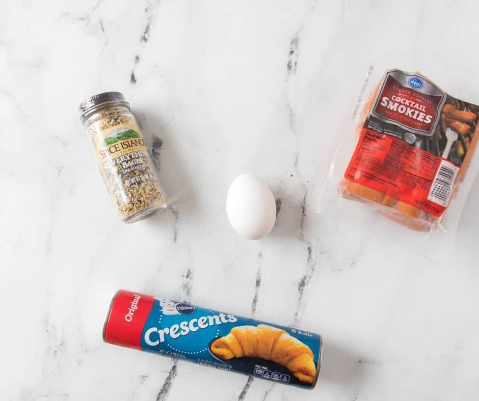 Ingredients Needed For Air Fryer Everything Pigs In A Blanket