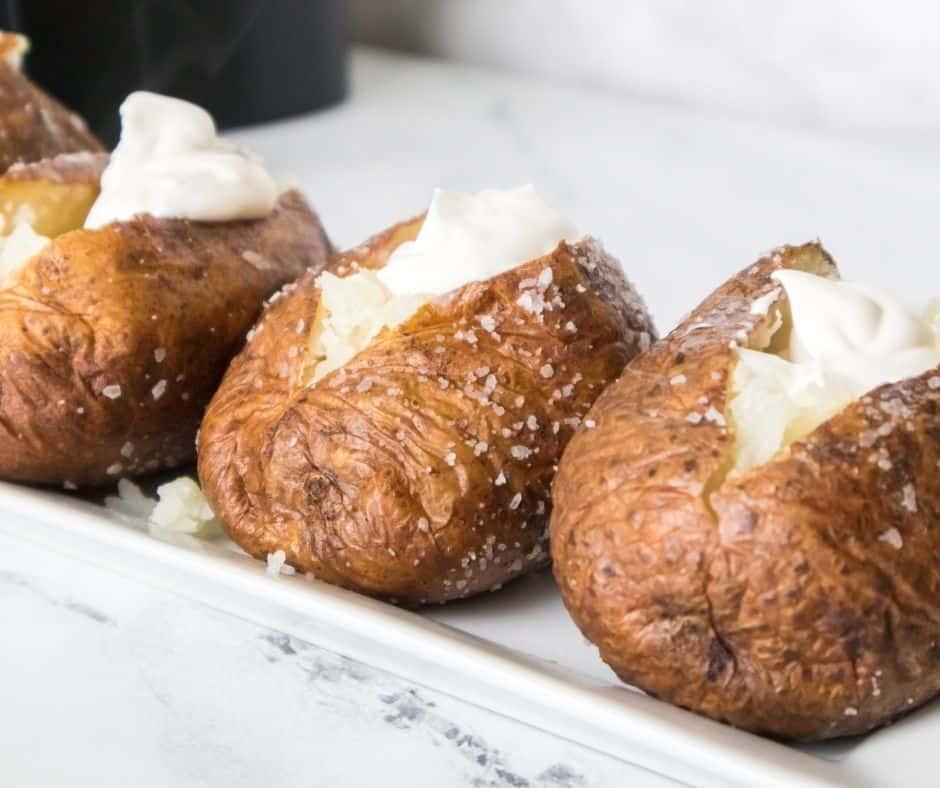 Air Fryer Baked Potato