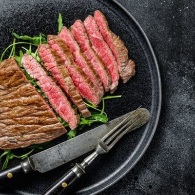 Air Fryer Flat Iron Steak
