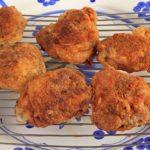 Air Fryer Chicken Thighs With A Homemade Dry Rub