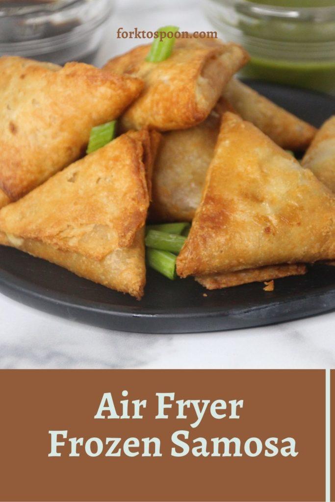 Air Fryer Frozen Samosa