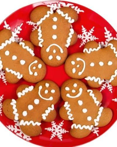 Air Fryer Gingerbread Cookies