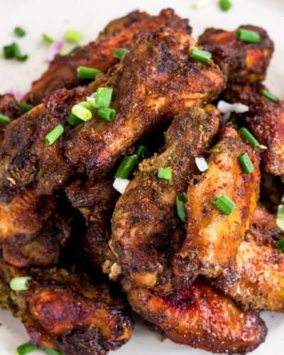Air Fryer Jerk Chicken Wings
