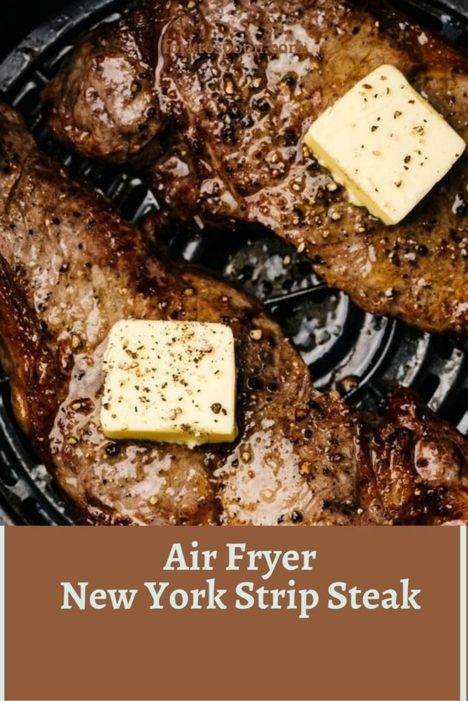 Air Fryer New York Strip Steak