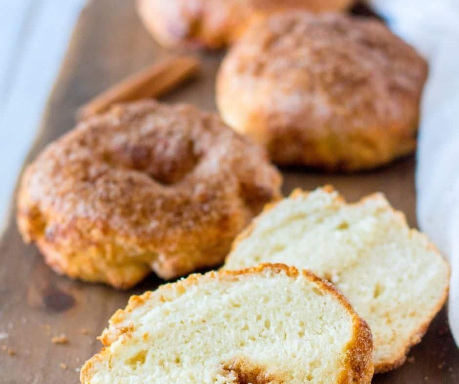 Air Fryer Panera Copycat Cinnamon Crunch Bagels