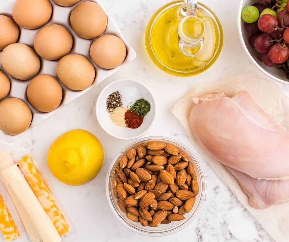 Ingredients Needed For Air Fryer Starbucks Copycat Protein Boxes