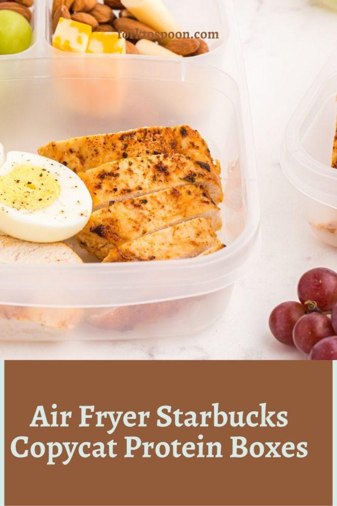 Air Fryer Starbucks Copycat Protein Boxes