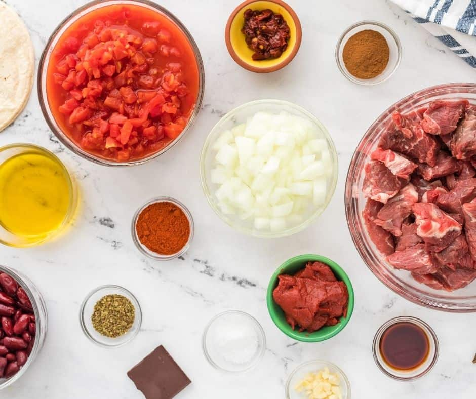 ngredients Needed For Instant Pot Chili Con Carne