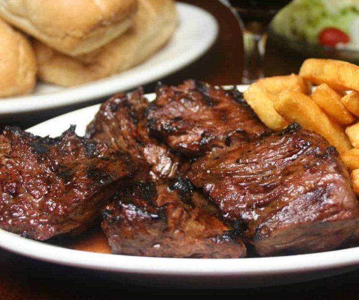 Ninja Foodi Steak Tips